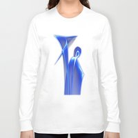 dance Long Sleeve T-shirts featuring Dance by Digital-Art