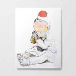 Aprés Noël Metal Print