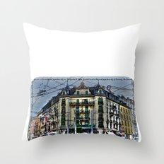 Geneva -  Switzerland Throw Pillow