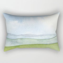 Appalachian Mountains Rectangular Pillow