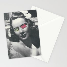 Psychedelic glasses II Stationery Cards