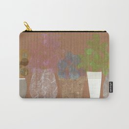 Vases on Board Carry-All Pouch