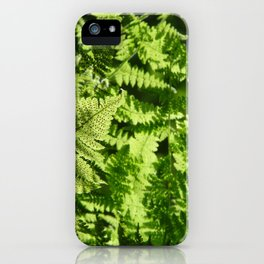 Fern Light iPhone Case