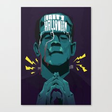 Halloween '13 Frankie Canvas Print