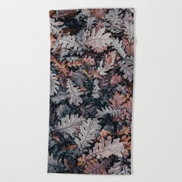 Dead Leaves Beach Towel