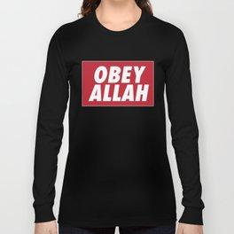 OBEY ALLAH Long Sleeve T-shirt