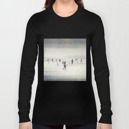 floating on light Long Sleeve T-shirt