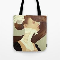 lace Tote Bags featuring Lace by Jumei