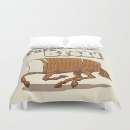 Pure Bread Duvet Cover