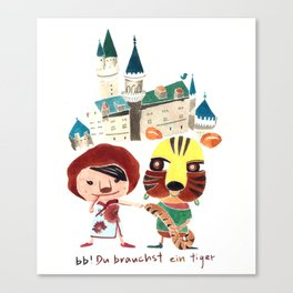 bb Canvas Print