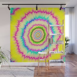 Blasted Colors Wall Mural