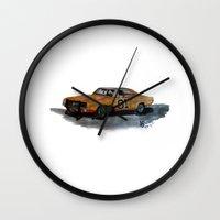 general Wall Clocks featuring General Lee by AshyGough