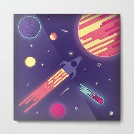 fantasy galaxy Metal Print