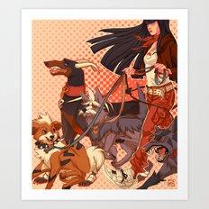 PokeDogs Art Print
