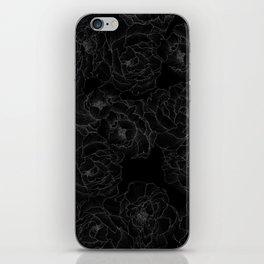 Peony Flower Pattern III iPhone Skin