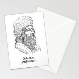 Johannes Liechtenauer Stationery Cards