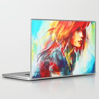 inspirational Laptop & iPad Skins featuring Airplanes by Alice X. Zhang