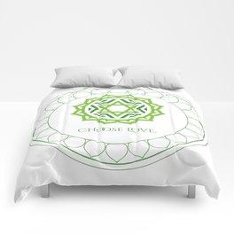 Choose Love Comforters