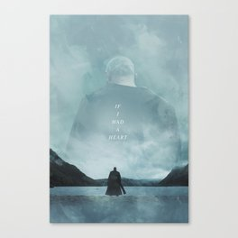 If I Had A Heart - Ragnar Lothbrok Canvas Print
