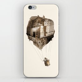 Up In the Air iPhone Skin