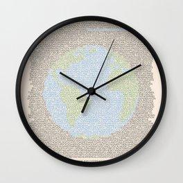 Environmental Consciousness Wall Clock