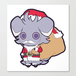 Santa Espurr Again Canvas Print