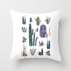 my best cactus!! Throw Pillow
