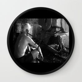 Bladerunner - Roy and Deckard Wall Clock