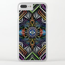 Galactic Soul Clear iPhone Case
