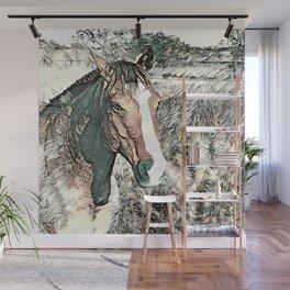 SmartMix Animal-Horse 3 Wall Mural
