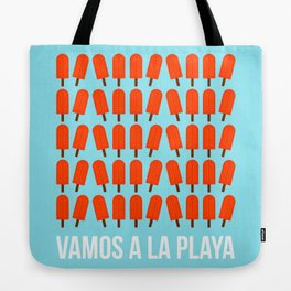 Vamos a la playa Tote Bag
