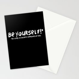 Be Yourself!* Stationery Cards