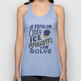Ice Cream Unisex Tank Top