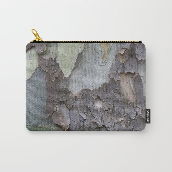 sycamore bark with a green tinge Carry-All Pouch