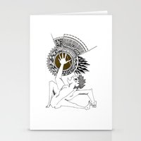 shadow of the colossus Stationery Cards featuring Colossus by Geek World