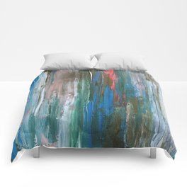 Abstract Painting #1 Comforters