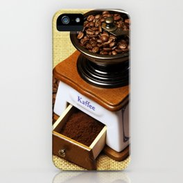 coffee grinder 3 iPhone Case