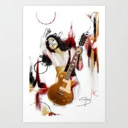 Cherish the Day (Guitar) Art Print