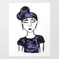 Constella Art Print