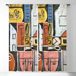 12,000pixel-500dpi - Constructive Painting 1932 - Joaquin Torres Garcia Blackout Curtain