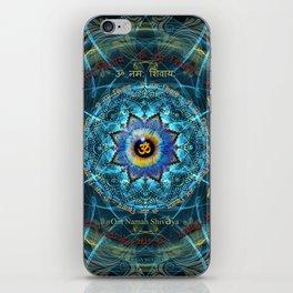 """Om Namah Shivaya"" Mantra- The True Identity- Your self iPhone Skin"