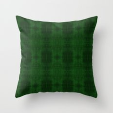Fun With Light 5 Emerald Throw Pillow