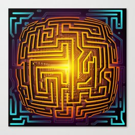 The Labyrinth Canvas Print