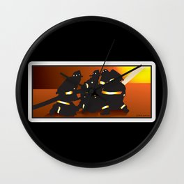 Engine Company Operations Wall Clock
