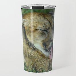 Cougar in the sun Travel Mug