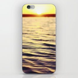 Sunset at Bodega iPhone Skin