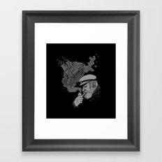 A Captains's Memory Framed Art Print