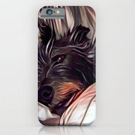 Lurcher iPhone Case