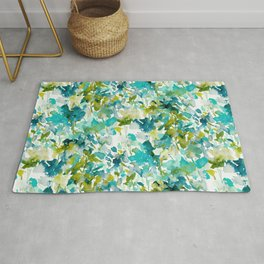 Local Color (Teal) Rug