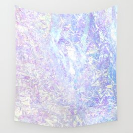 Iridiscent Pastel Crystal Wall Tapestry